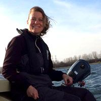 Martine de Haart, Watersportschool Frissen